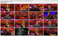Gillian Anderson - Interview - Graham Norton Show Christmas Special 25th December 2011 HD