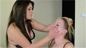 Hunt Erotic: Faceslapping - By Domina Linda Rush And Her Slave Brigitt