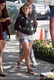 Hilary Duff - Leggy on Gossip Girl set in NYC, September 3, 2009