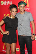 Кристина Милан, фото 3369. Christina Milian , at McDonald's launch party for its new Chicken McBites in Hollywood - 26/1/12, foto 3369