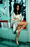 "Paz Vega Leggy @ The Opening Of Her New Shoe Boutique ""Max Addict"" June 15, 2004"
