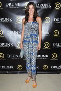 Adrianne Palicki Drunk History season 2 premiere party in Glendale 06-29-2014